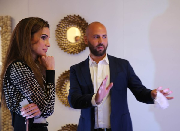 Queen Rania Inaugurates the Entrepreneurship Talent Exhibition at Oasis500